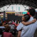 En la otra frontera, los migrantes no celebran  Foto: Isaac Gúzman