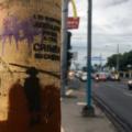 Título: Gráfica política, Managua, Nicaragua. Foto Jesús Gómez