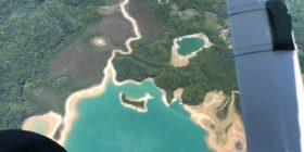 Imagen de la sequía en Metzabok