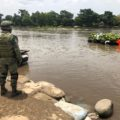 Llegan 6,500 elementos de la Guardia Nacional para vigilar 900 kilómetros de frontera entre México y Guatemala.  Foto: Isaín Mandujano