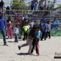 Niños rarámuri «luchan» para vencer al mal