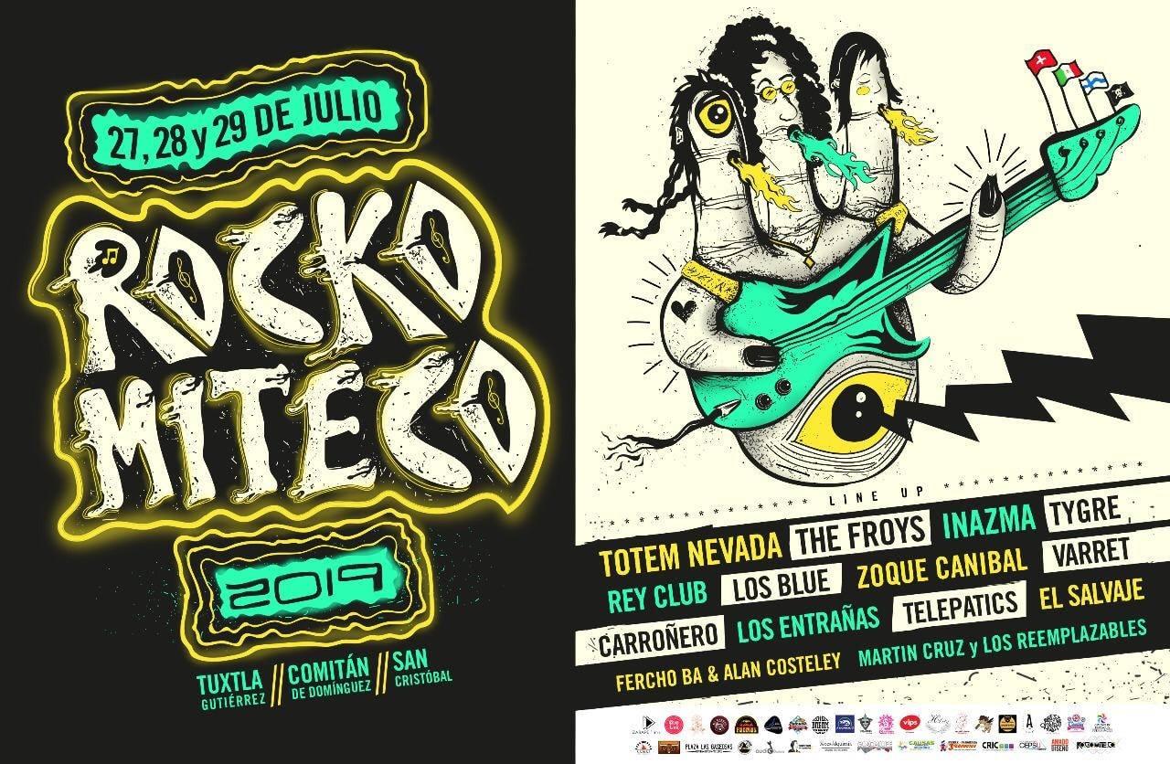 Con 14 grupos y 3 sedes, Rockomiteco celebrará su novena edición