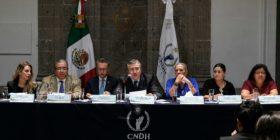 Chiapas encabeza casos por trata de personas.  Presentación de Diagnostico por la CNDH  P