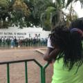 Migrantes de Haití en estación migratoria Siglo XXI. Foto: Ángeles Mariscal