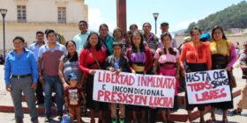 Familiares de presos en huelga de hambre