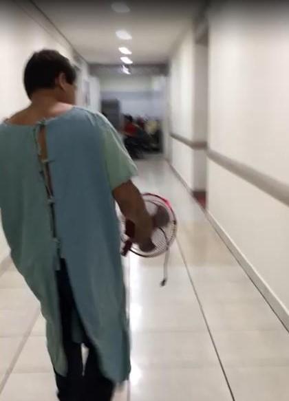 Paciente abandona hospital del ISSSTECH por mal servicio y falta de medicamentos