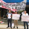Estudiantes de la UNACH inician huelga de hambre por acoso y hostigamiento de docente