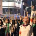 La llamarada feminista toma las calles de Guadalajara exigiendo un alto a las violencias machistas
