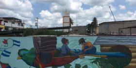 El mural de la esperanza, Suchiate, Chiapas, Mexico. Foto: Iván Francisco Borraz