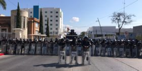 Frenan protesta por Primer Informe de Gobierno