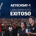 Lanzamiento exitoso del AztechSat-1 primer nanosatélite Mexicano que se pondrá en órbita.