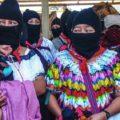 Mujeres zapatistas: nos vamos a defender a todas