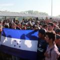 Migrantes en la frontera sur. Foto: Archivo Bladimir Pérez
