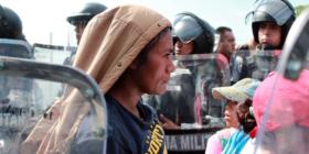Migrante de Honduras. Foto: Bladimir Pérez
