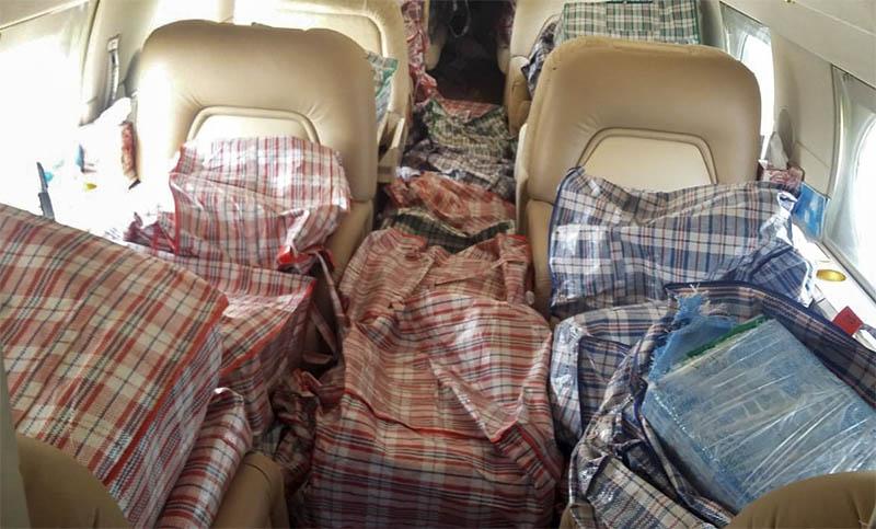 Detienen en Cozumel aeronave que estuvo en Chiapas y terminó con una tonelada de cocaína