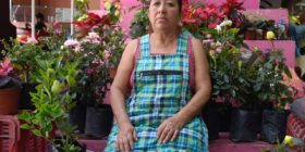 Doña Zenaida, la motivadora del Tuxtla verde Foto: Guillermo Ramos