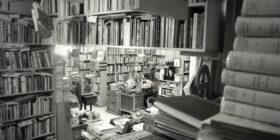 © Típica librería de viejo. Calle de Donceles, ciudad de México. c2008