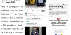 Una ambulancia y 6 doctores atienden a pueblo de España que triplica media de fallecimientos (Actualización desde lo local a lo global del COVID-19).