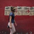 """Posters como estos de la colectiva feminista """"Yo no quiero ser violada"""" se pueden encontrar en las calles de Honduras a manera de denuncia de la creciente violencia sexual contra las mujeres. Foto: Greta Rico"""
