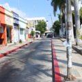 Algunas avenidas concurridas de la capital chiapaneca se encontraban desoladas en plena hora pico .  Foto: Roberto Ortiz