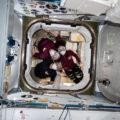 ¿Quién está libre del Covid-19? Los astronautas de la Estación Espacial Internacional. Créditos: NASA