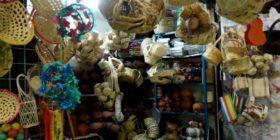 Local de canastos de mimbre en mercado de Tuxtla Gutiérrez Cortesía: Andrea Lr