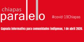 Chiapas Paralelo resúmenes informativos a comunidades indígenas.