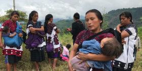 Desplazados Chalchiuitán Foto a