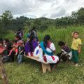 Foto: Desplazados de Chalchiuitán. Foto: Ángeles Mariscal