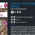 Audio poemas en voz de autores chiapanecos