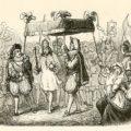 Ilustración de Vilhelm Pedersen (1820 - 1859), el primer ilustrador de Hans Christian Andersen