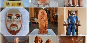 Artesanía y escultura; la representativa talla de madera de Chiapa de Corzo
