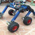 Prototipo Robot Mars Rover. Cortesía: Francisco Ramos.