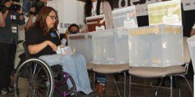 Piden una reforma electoral real e incluyente para Personas Con Discapacidad. Cortesía: Breaking.