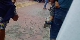 Habitantes de Totolapa con machete en mano exigen frenan campaña de fumigación por temor a contagiarse de Covid-19