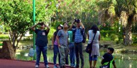 """Charla y recorrido guiado en el parque Joyyo Mayu, como parte de las actividades de """"La Selva Tuxtleca"""". Cortesía: Daniel Pineda."""