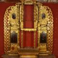 Finalizó la restauración del retablo de la iglesia chiapaneca de San Nicolás Tolentino.-Cortesía Iván Gómez