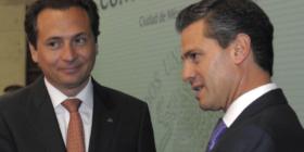 Emilio Lozoya y Enrique Peña Nieto. Cortesía: PEMEX