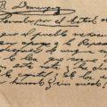 Facsímil del Discurso de Belisario Domínguez, 23 de septiembre de 1913 (fragmento, Nota)