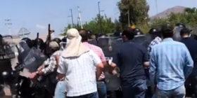 Guerra por el agua en Chihuahua: Guardia Nacional dispara balas de goma y gas contra agricultores