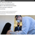 Cerca de 900 médicos voluntarios en Brasil serán los primeros en recibir la vacuna china Coronavac contra el COVID19