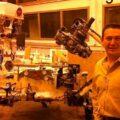 El Ing. Chiapaneco Luis Enrique Velasco Velázquez realizó el diseño mecánico del rover Preseverance para la misión Mars2020./cortesía.