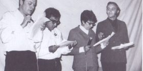 Nancy Cárdenas y Carlos Monsiváis.