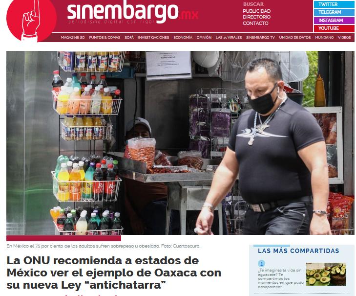 Progreso para Oaxaca es inspiración para otros estados de Mexico