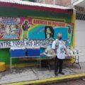 . Entrega de despensa y tortillas a la Agencia de Payasos. Cortesía: José Utrilla.
