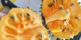 La Chincuya se cultiva en los patios y la fruta se vende en los mercados locales. Cortesía: Chow with xhico.