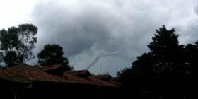 Tornado 6 de agosto de 2014. Foto: Juan Carlos Velasco S.