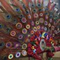 El sombrero es el elemento central de las danzas. Cortesía: Víctor Cruz