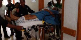Artemio Pérez, escribano de Aldama herido por civiles armados. Foto: Cortesía