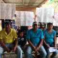 Los hermanos Gómez Sánchez salieron de su comunidad hace 9 años, ahora regresa sin su padre, su madre y sus hijos. Foto: Ángeles Mariscal